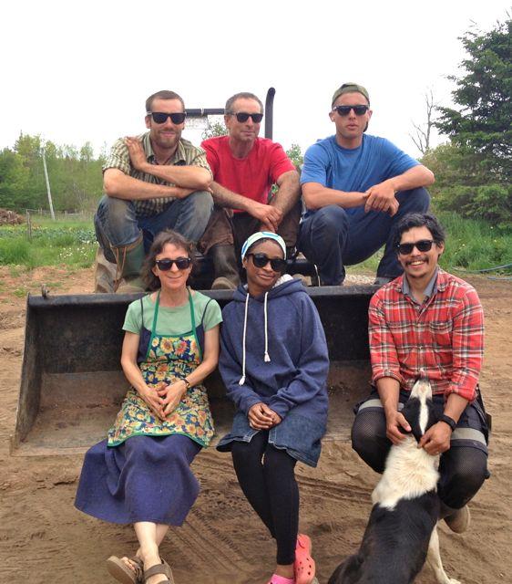 Abundant Acres crew