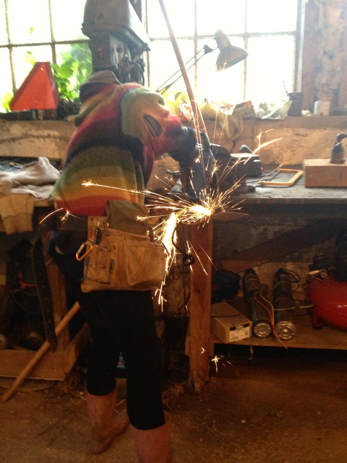 Victoria, sharpening tools